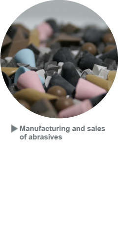Manufacturing and sales  of abrasives